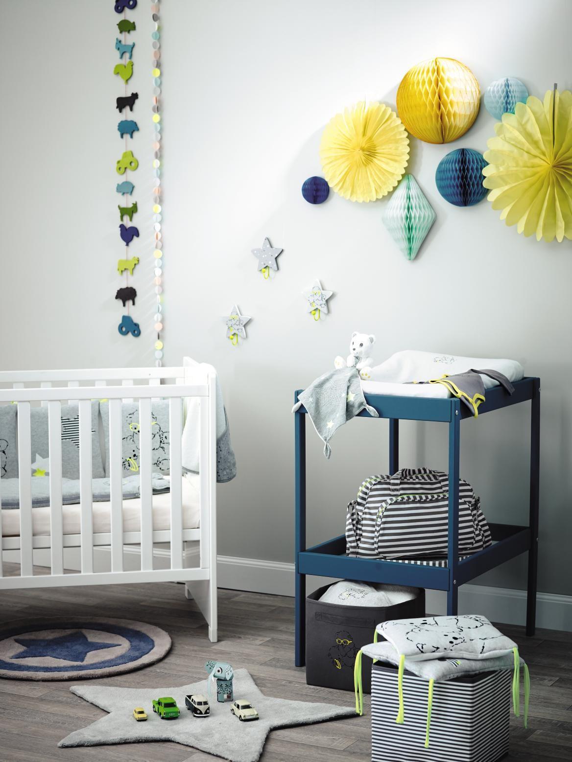 dcoration chambre en bleu et blanc - Chambre Bleu Et Jaune