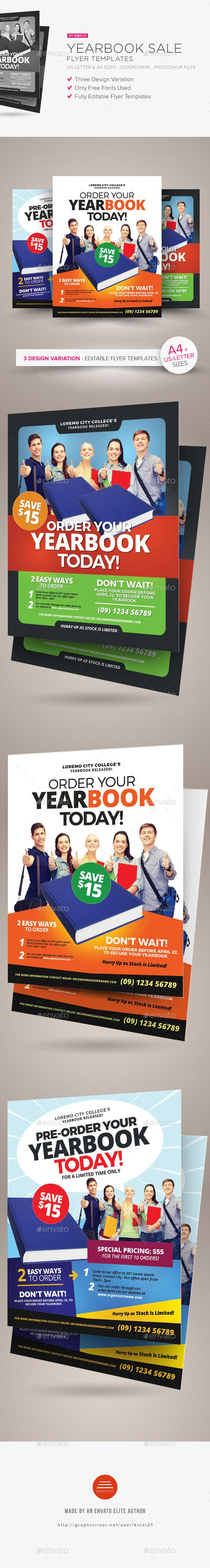 Yearbook Sale Flyer Templates Commerce Flyers Download Here