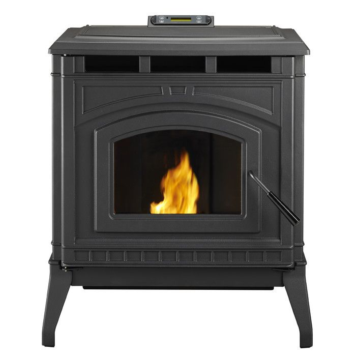 You Ll Love The Cast Iron 2 200 Square Foot Pellet Stove At Wayfair Great Deals On All Home Improvement Product Pellet Stove Wood Pellet Stoves Wood Pellets