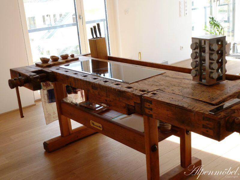 alpenmöbel kochinsel - von generation zu generation weitergegeben ... - Kochinsel Design