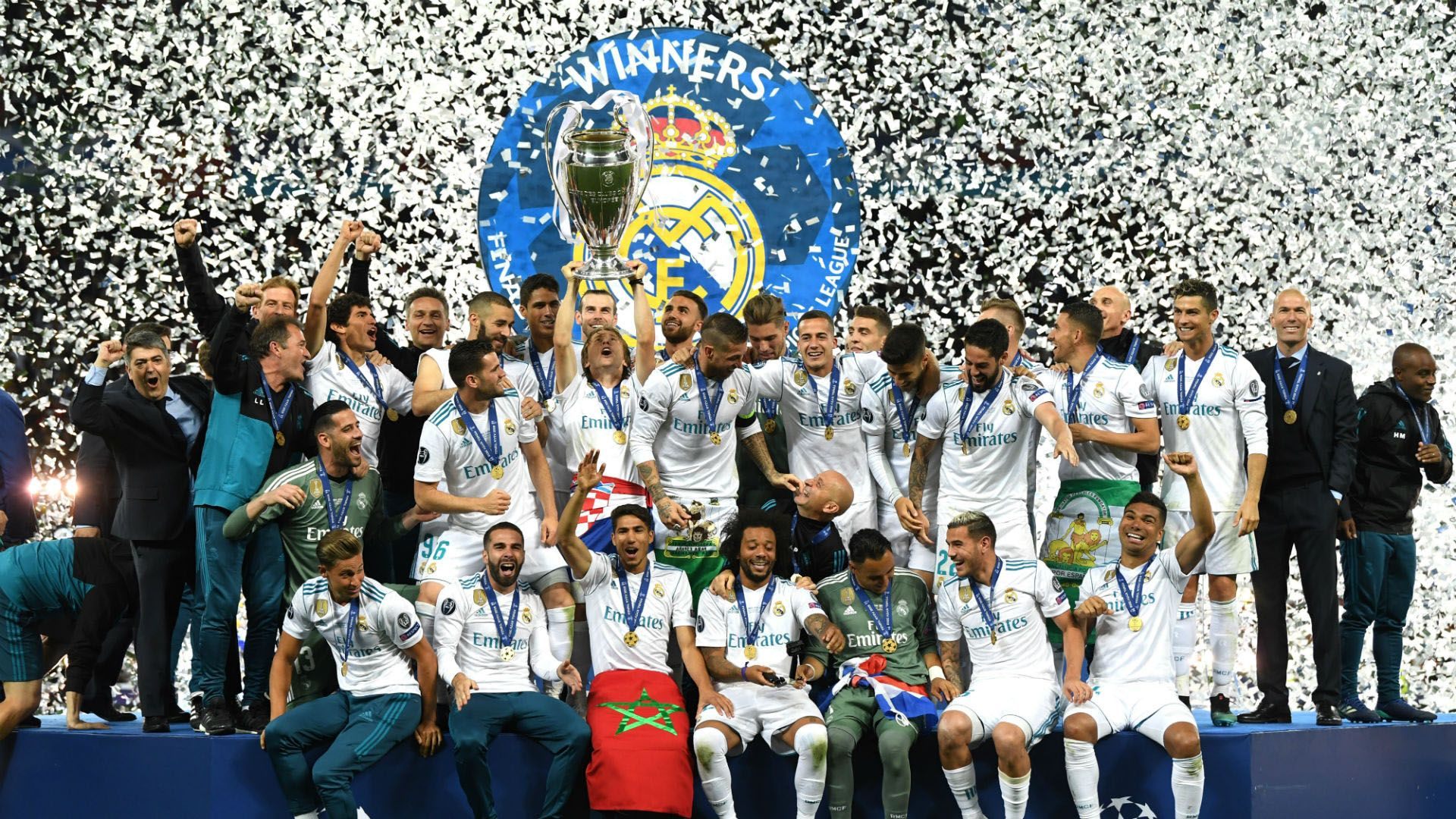 Real Madrid Wallpaper Hd 2019 Hd Football In 2020 Real Madrid Wallpapers Real Madrid Champions League Madrid Wallpaper
