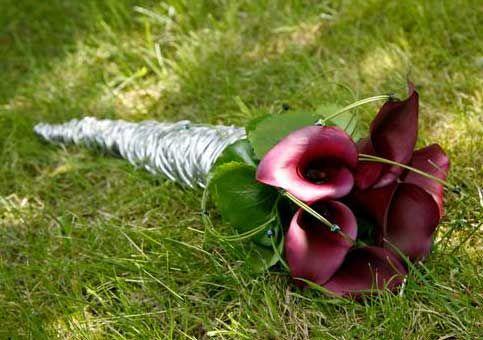 foto's van callas in bruidsboeket   trouwshop.com