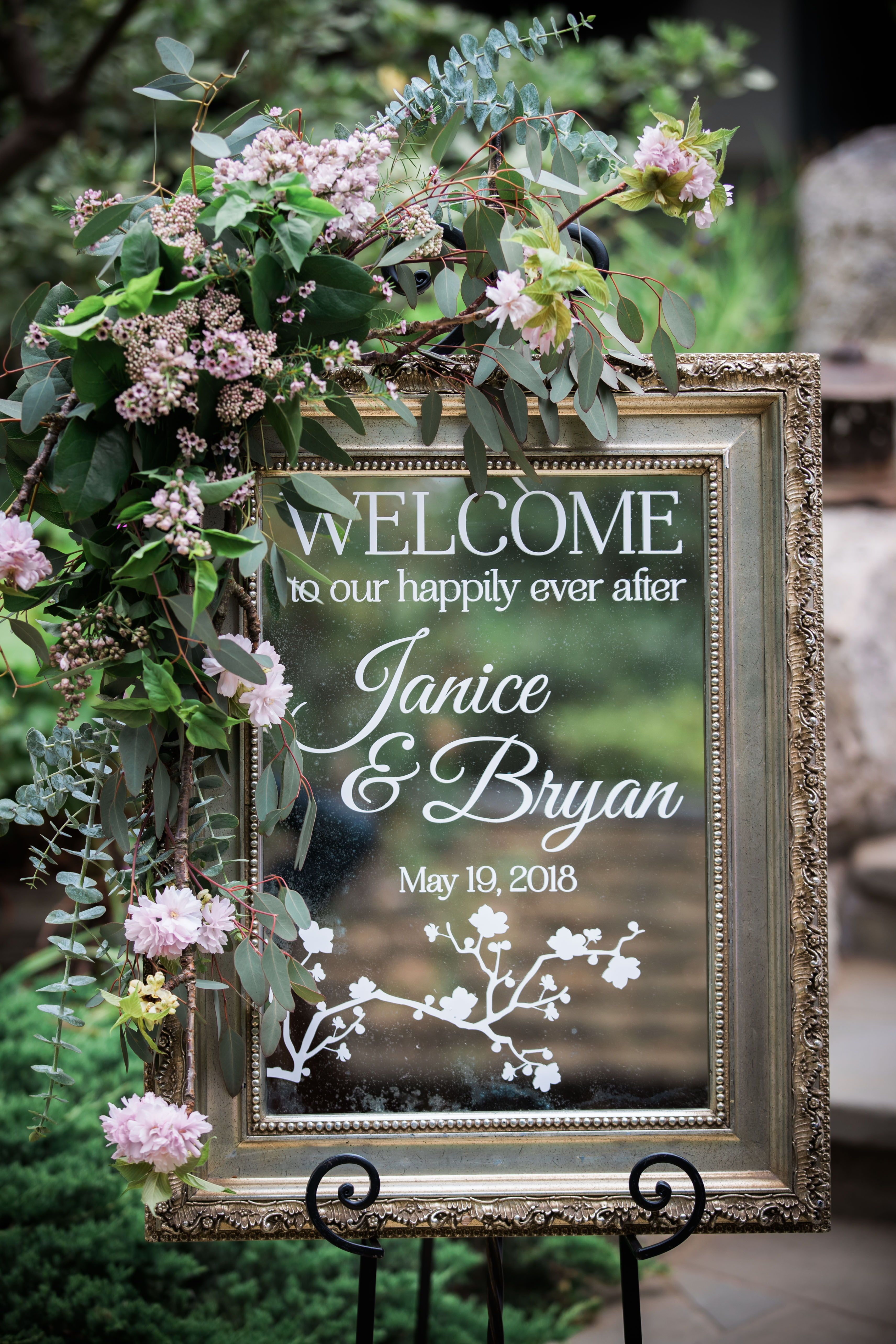 Cherry Blossom Inspired Garden Wedding Venue Storrier