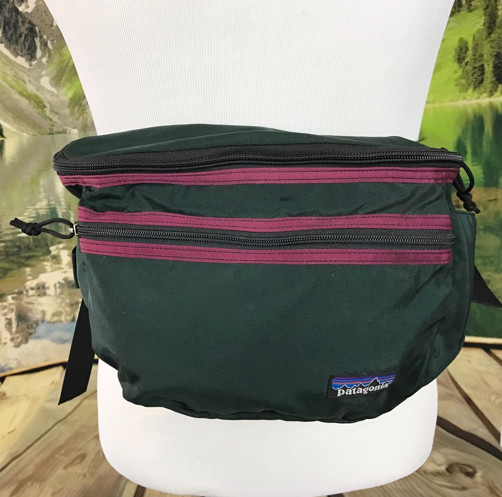 3249076912a98 Retro Patagonia Fanny Pack Bag Green Vintage Waist