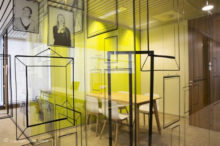 Veritas office by AOS Belgium, Kontich – Belgium | HAY-Office ...
