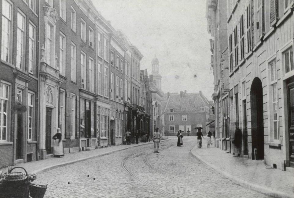 Breda Breda De Veemarktstraat in 1894