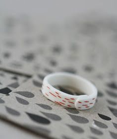 ArtMind: Porcelain rings