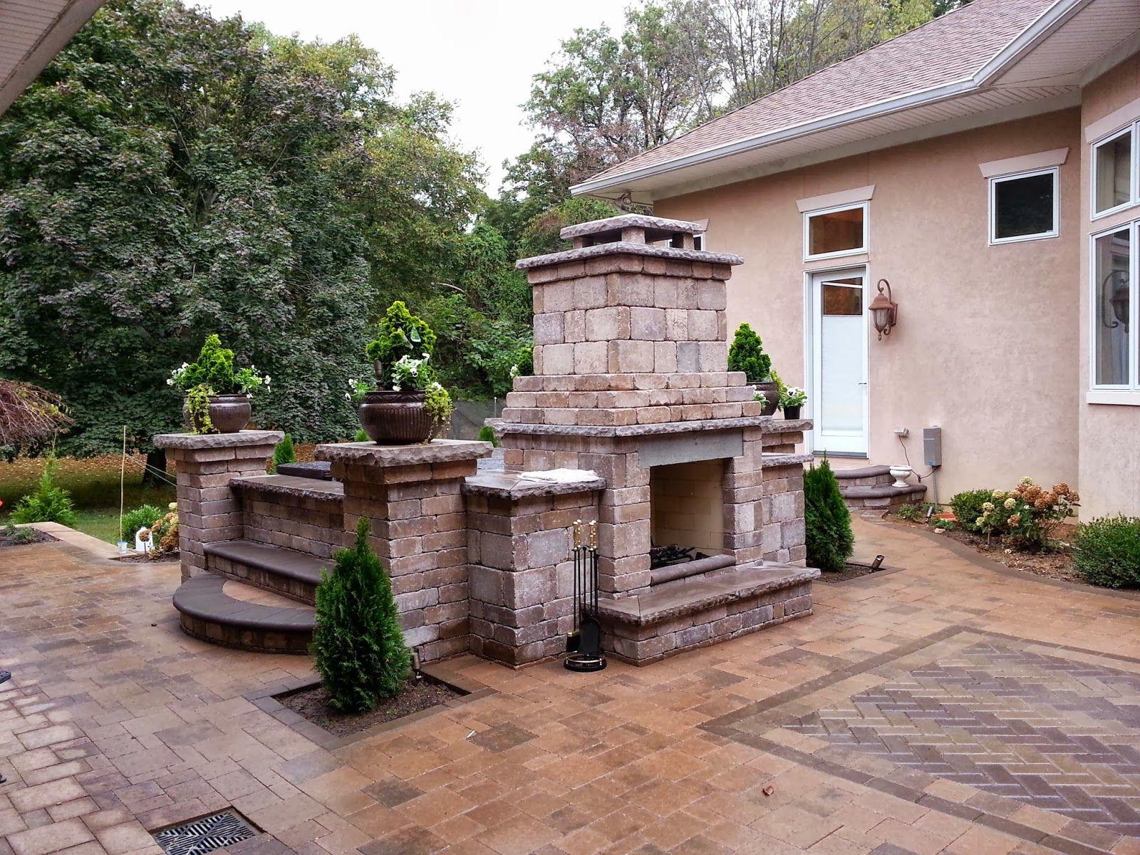 patio paver photos with tubs fireplace u0026 tub combo