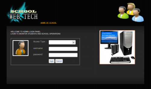 School Management System in PHP | Free website templates and web ...