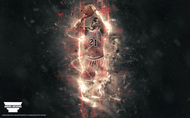 Jimmy Butler Chicago Bulls Nba Wallpaper Duvar Kagidi