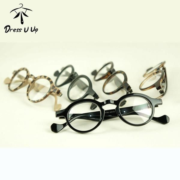 FuzWeb:DRESSUUP Leopard Style Glasses Women Men Round Glasses Woman Classic Optical Vintage Glasses Frame Eyeglasses Men Oculos Gafas