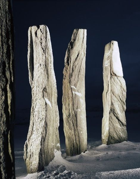 Standing Stones, Scotland by Frédéric Fontenoy