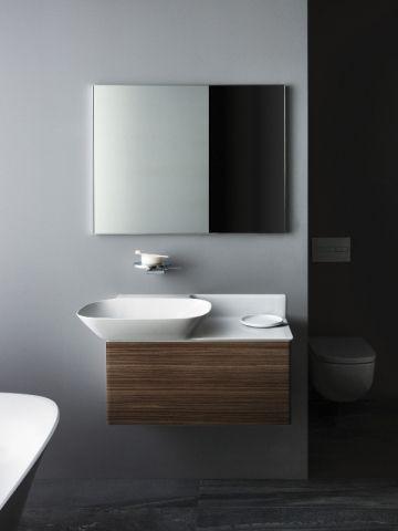Aménager sa salle de bains  Des vasques à poser aux formes