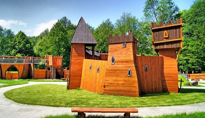 Spielplatz in Zgorzelec/ Görlitz
