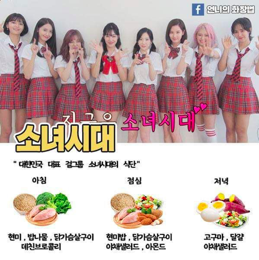 The Extreme K Pop Idol Diet Meal Plan Compilation Kpopmap Diet Meal Plans Kpop Diet Korean Diet