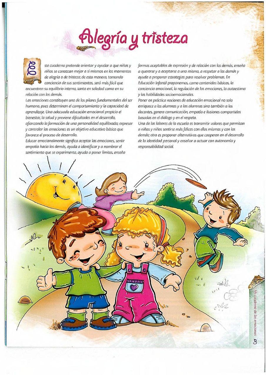 Cuaderno Emociones Cuentos Cortos Para Imprimir Poemas Cortos Para Niños Imagenes De Cuentos Infantiles