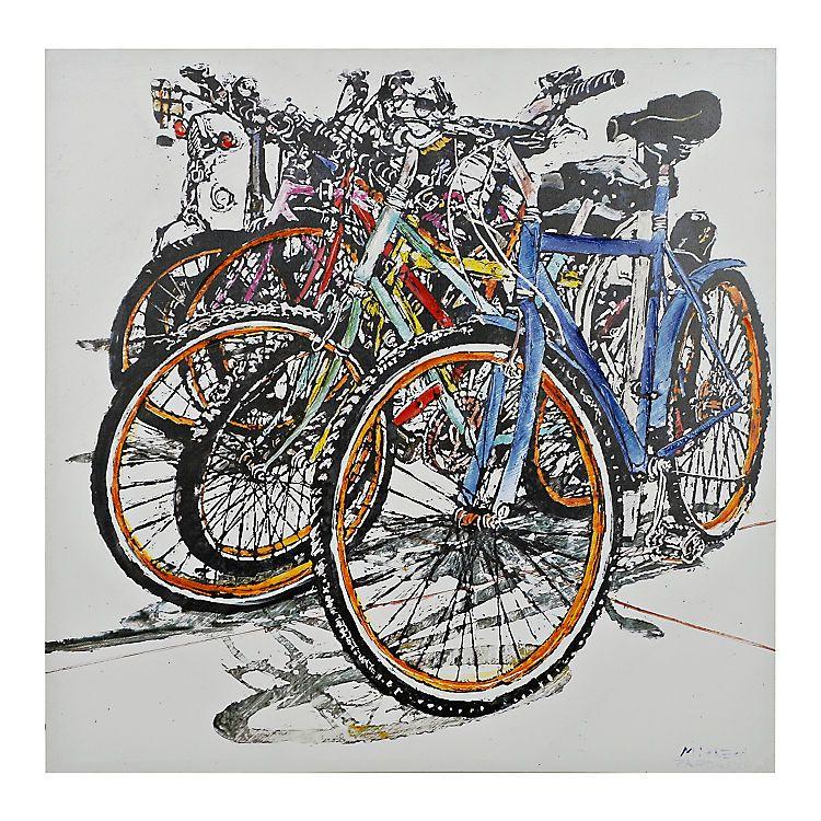 Bicycles canvas art print kirklands canvas art prints