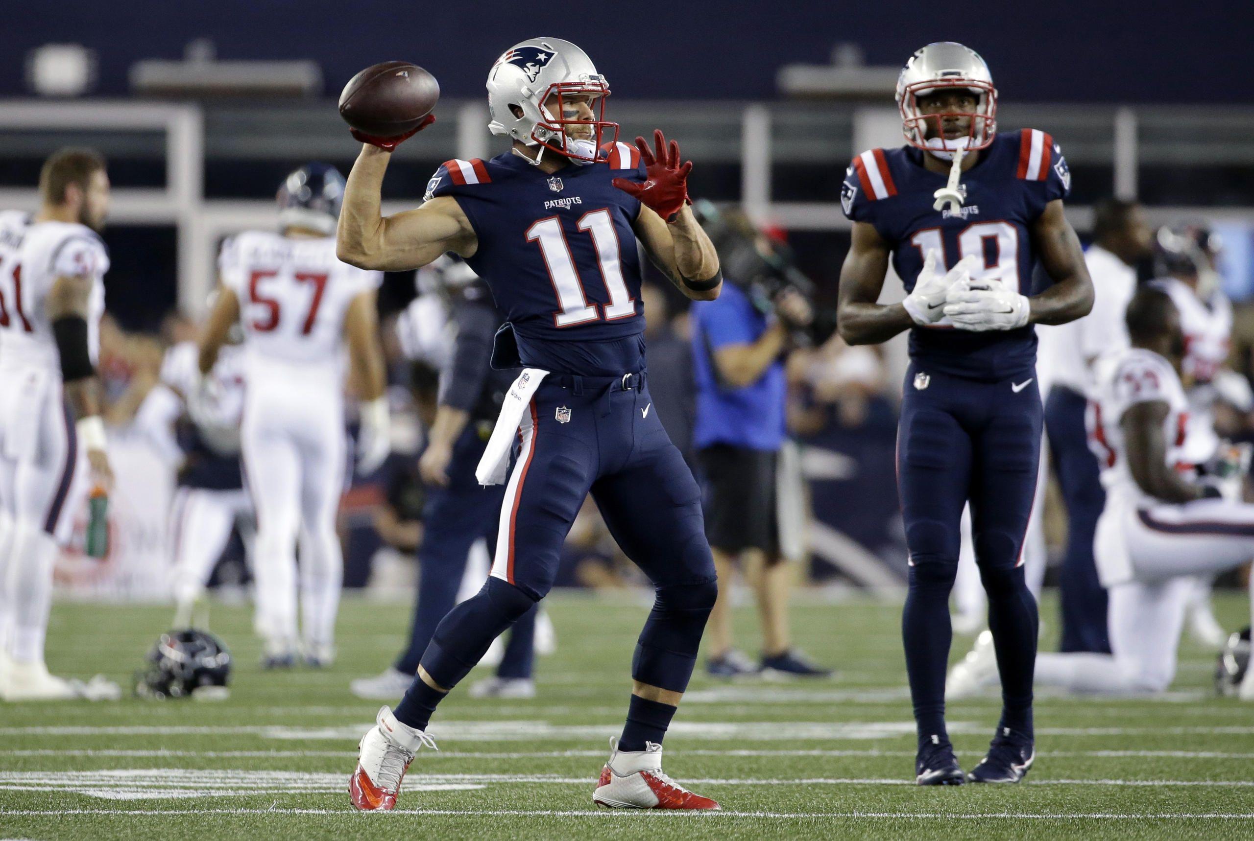 Patriots Vs Texans Week 3 New England Patriots Julian Edelman Patriots