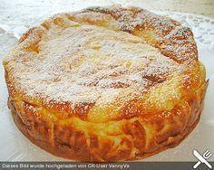 Schneller bodenloser Apfel - Käsekuchen von Illepille | Chefkoch