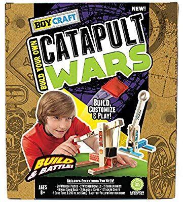 Amazon.com: Boy Craft Catapult Wars by Horizon Group USA ...