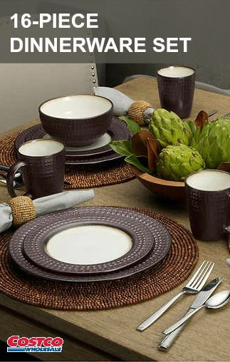 Mikasa Gourmet Basics Avery Dinnerware brings a touch of interest to ...