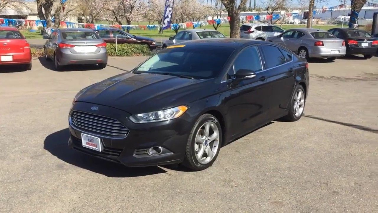 2014 Ford Fusion Se Sedan 4d In 2020 With Images Sedan Ford
