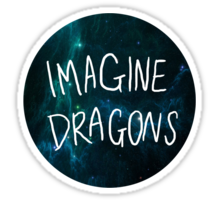 Imagine Dragons Stickers Imagine Dragons Stickers Cute Stickers