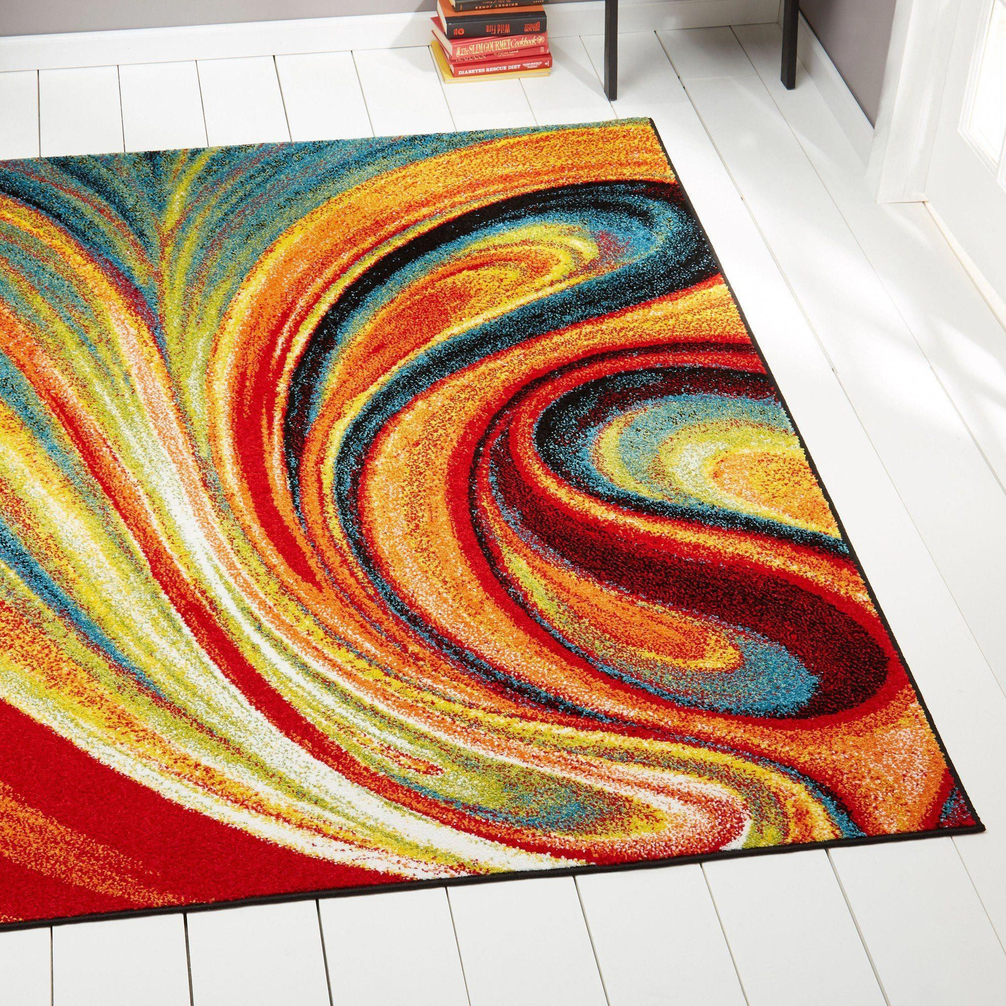 Bring A Bold Unique Style To Your Home With This Eye Catching Rug