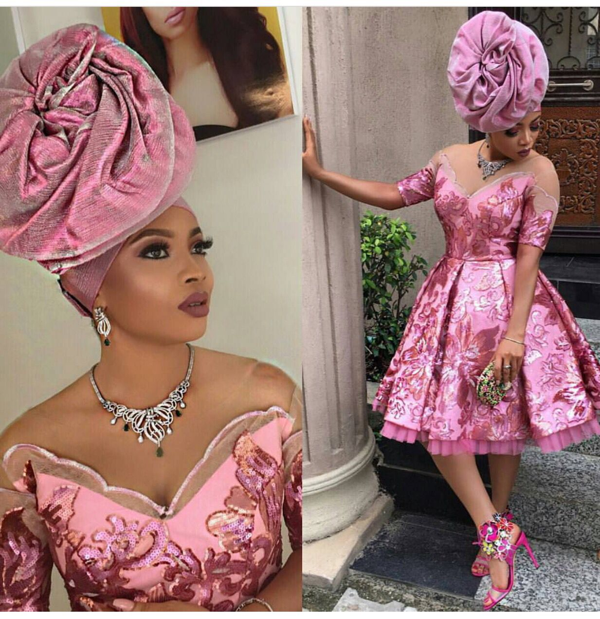 Lastest African Fashion, African Prints, African Wedding