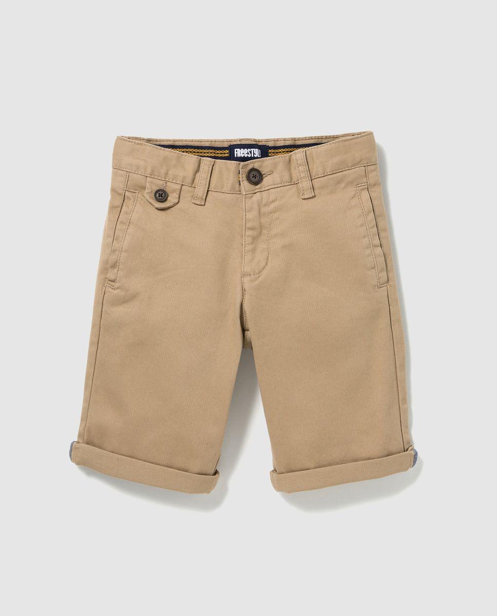 721807a6f5fc Bermuda de niño Freestyle en marrón claro · Freestyle · Moda · El ...