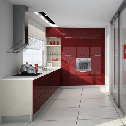 cuisine p tilla cuisinella cuisinella p tillant et vernis rouge. Black Bedroom Furniture Sets. Home Design Ideas