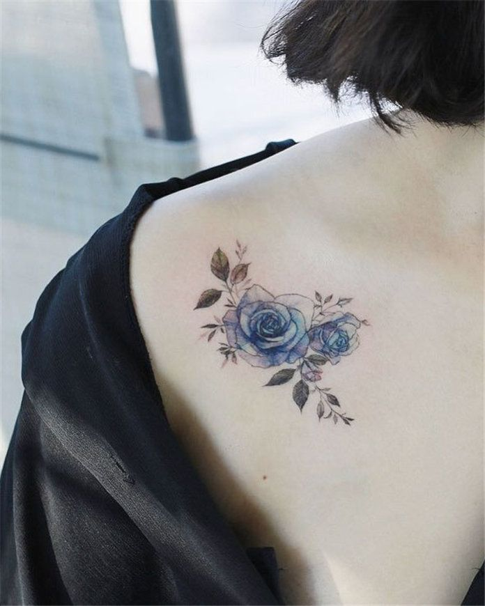 60+ Cute Flower Tattoos for Women 2019 - Soflyme