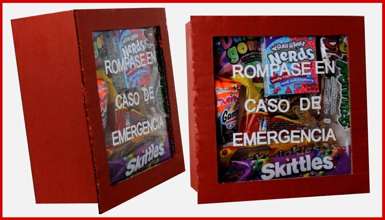 Ideas para regalar rompase en caso de emergencia - Manualidades para regalar en reyes ...
