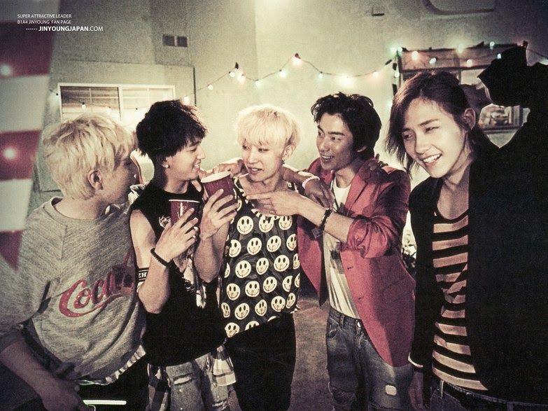 B1A4 5th Mini Album Solo Day