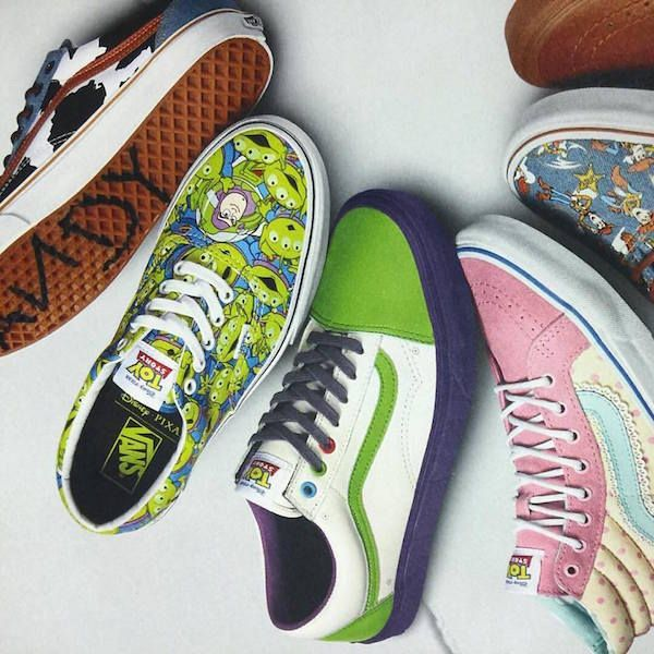Vans Toy Story Old Skool gradient