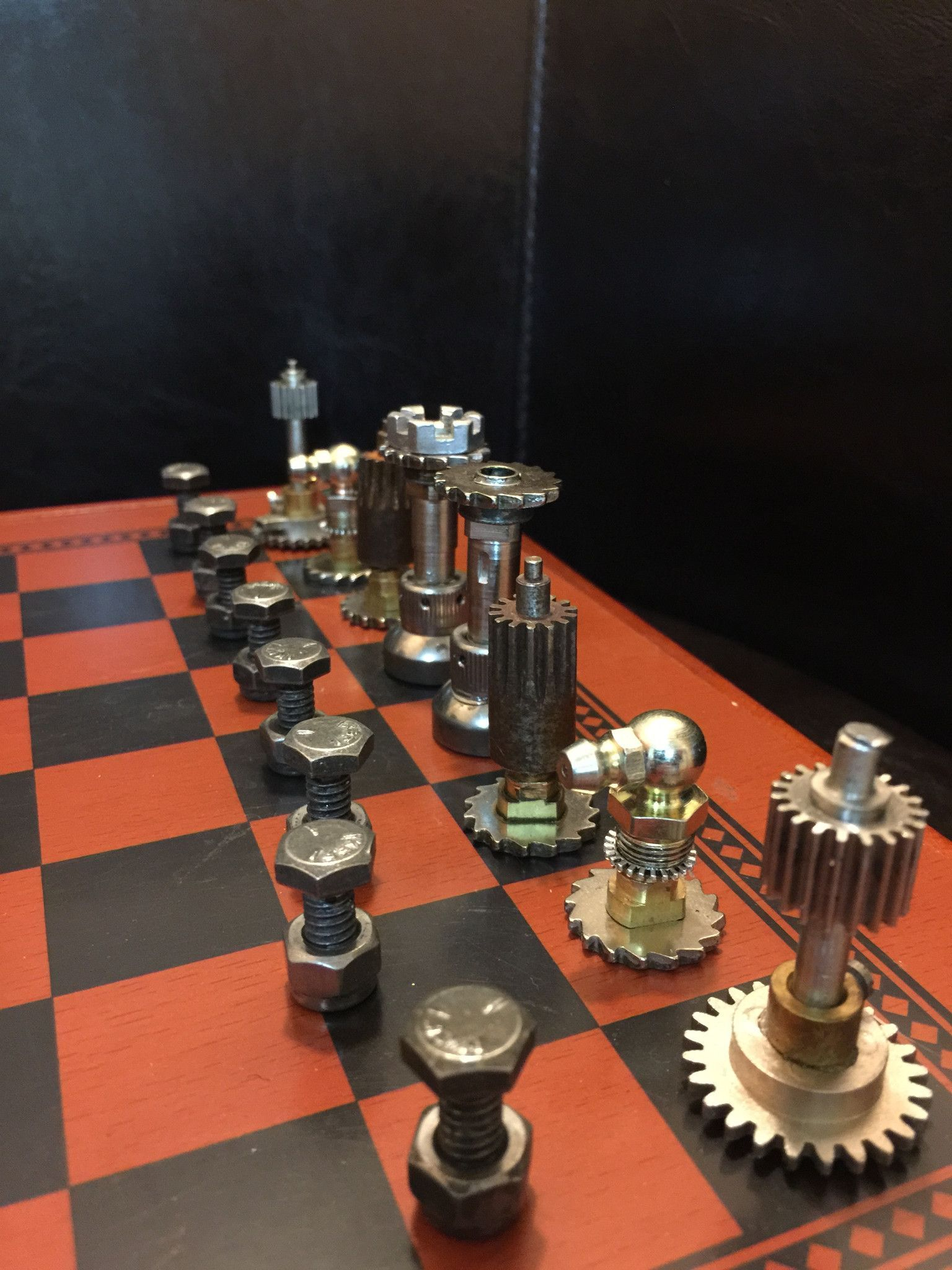 Steampunk Chess Set Chess, Chess set, Chess game