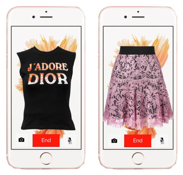 """""""Bez naslova #112"""" by summer200-1 ❤ liked on Polyvore featuring Christian Dior and Dolce&Gabbana"""
