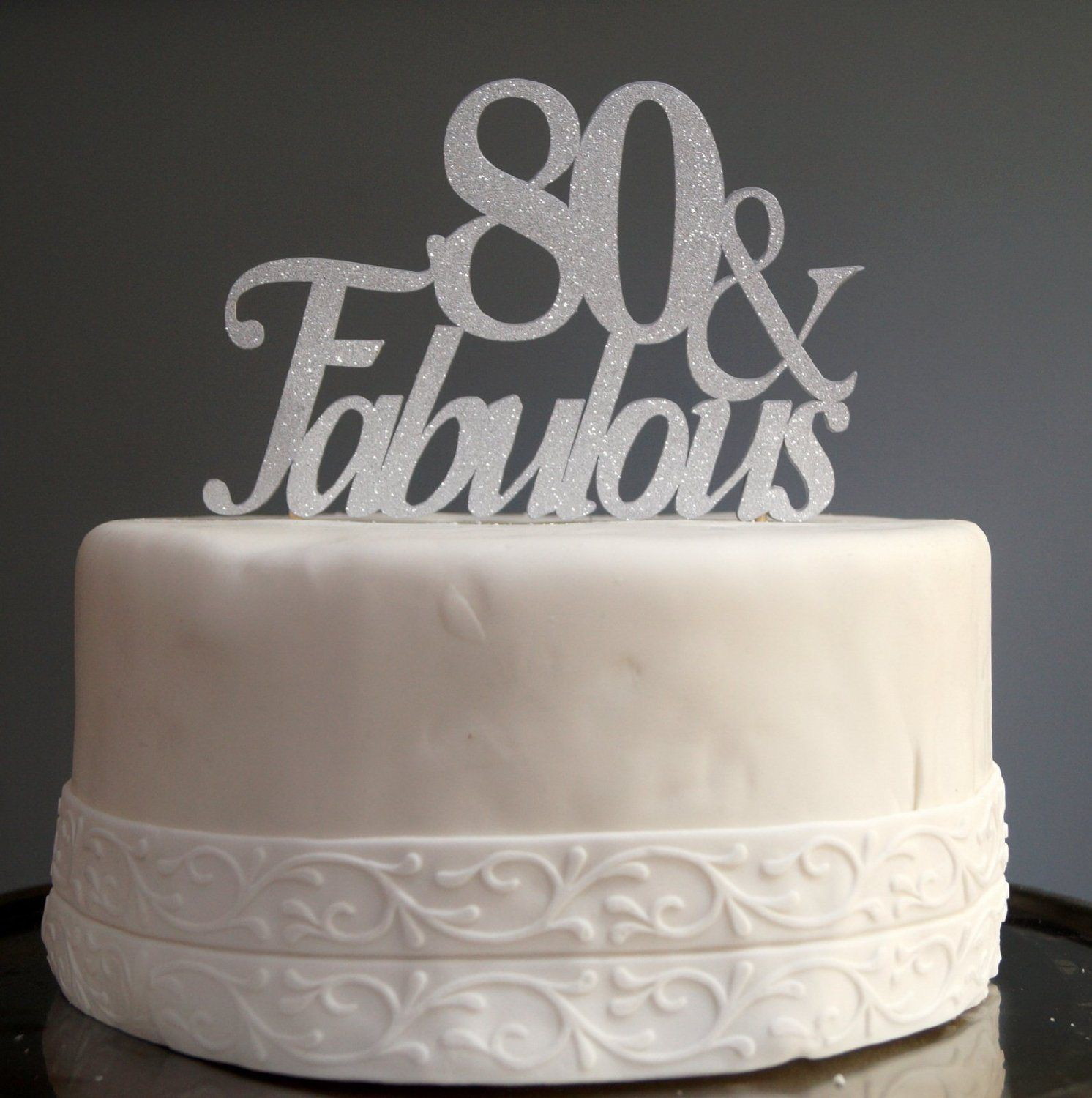80th Birthday Cakes And Cake Ideas