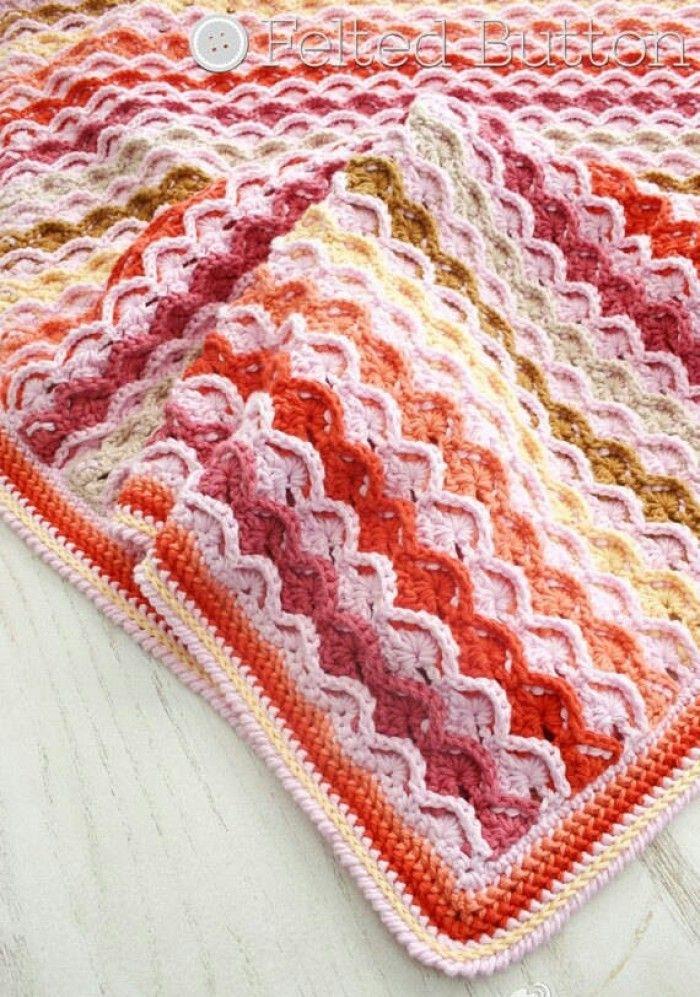 Pin de Lier Lier en Knitted Patchwork, African flower, Afghan ...
