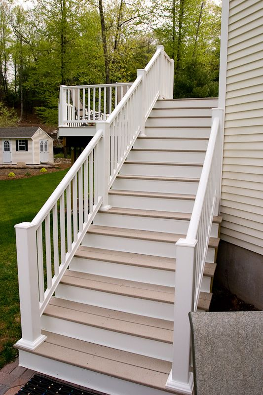 Best Composite Deck Stairs Deck Stairs Deck Stairs 400 x 300