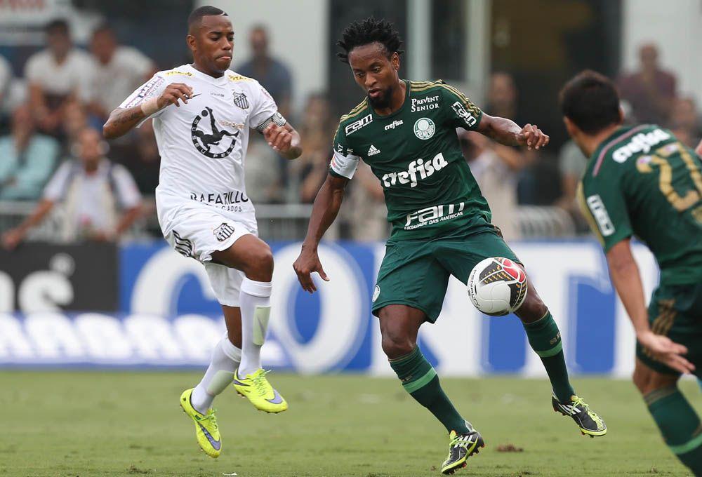 Zé Roberto - Santos 2 (4) x (2) 1 Palmeiras - Vila Belmiro - Campeonato Paulista (Final) 03/05/2015