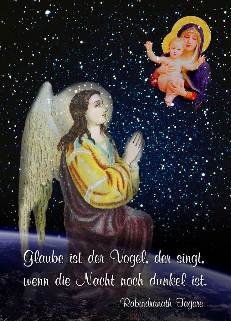 Engelkarte - Postkarten Kunstdruck Poster Einsiedeln