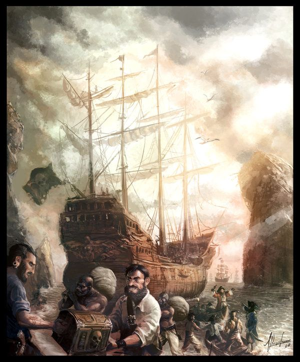 Pirates by neisbeis.deviantart.com on @deviantART
