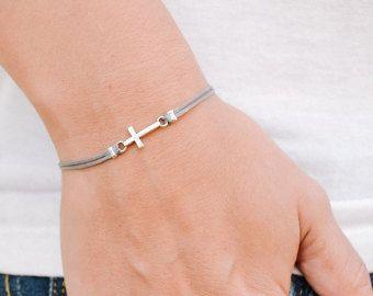 Cross Bracelet For Men Groomsmen Gift S By Principles Etsy