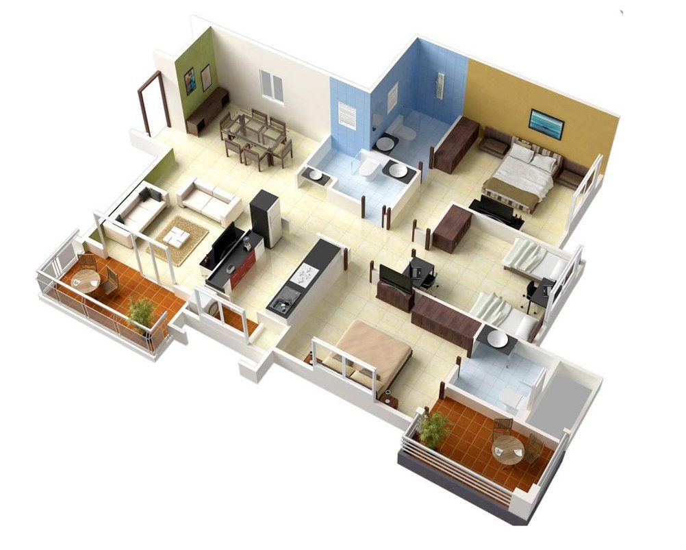 3d Floor Plans Ideas Ideas Floor Plans Floor Plan Design House Floor Plans Home Design Plans