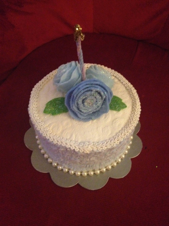 Faux Fake Cake Gift Box For Birthday Gift Fake Food Photo Display