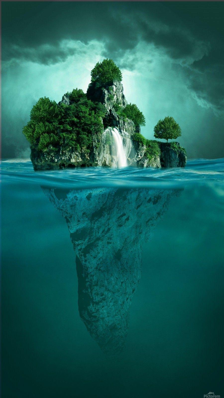 Mystery Island Art And Inspiration Print Island Art Mystery Island New Nature Wallpaper