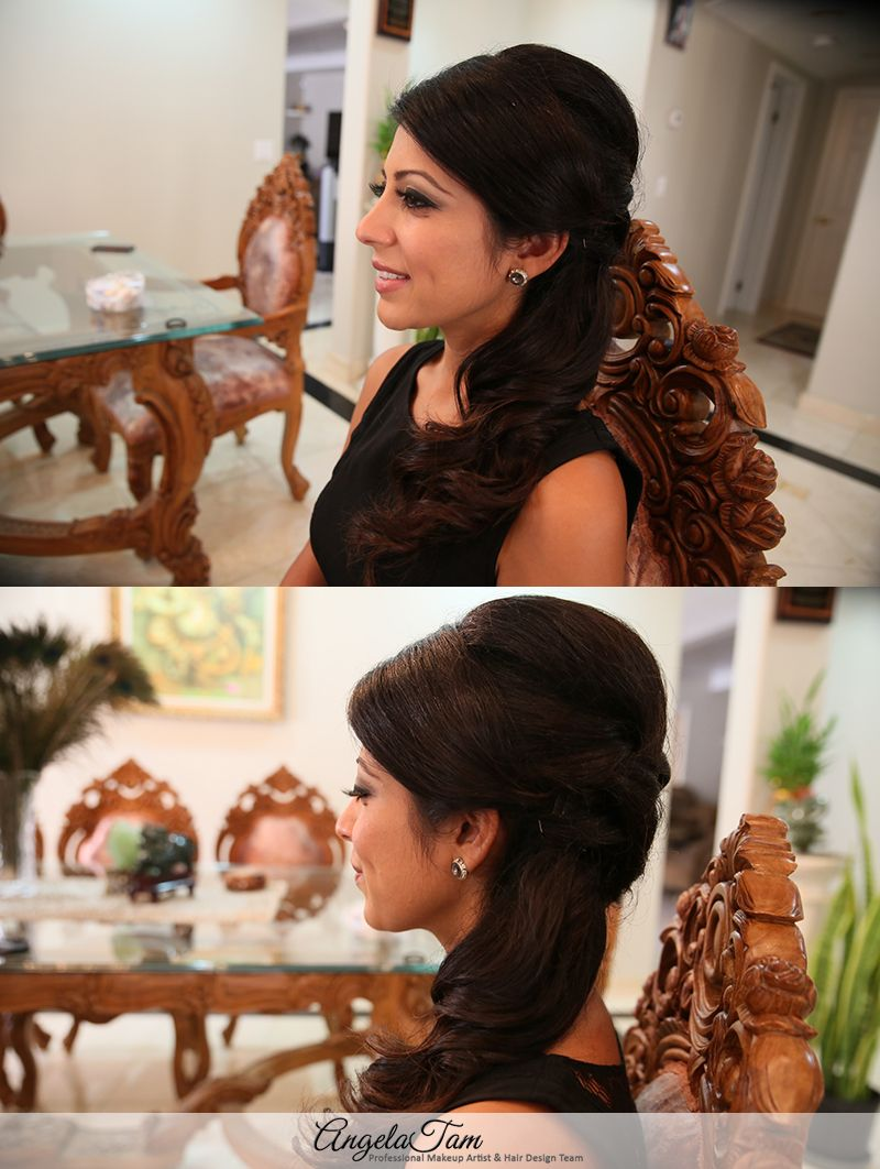 Amazing 1000 Images About Hairstyles For Indian Wedding On Pinterest Hairstyles For Women Draintrainus