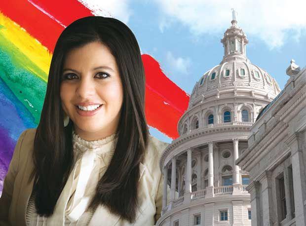 Pansexual woman in the texas legislature