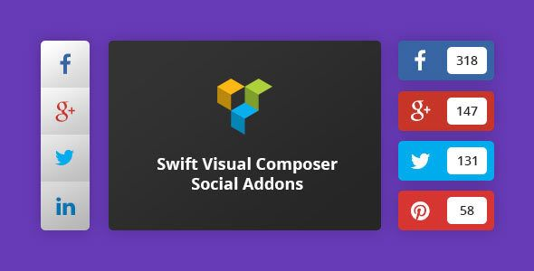 Download Free Swift Visual Composer Social Addons # facebook